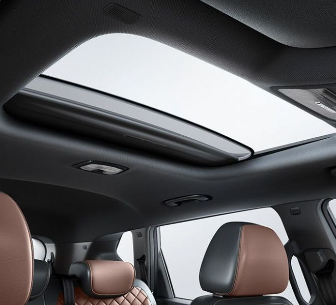 Automotive Mahindra Alturas G4 Interior-4
