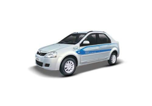 Automotive Mahindra E-Verito Desat Silver