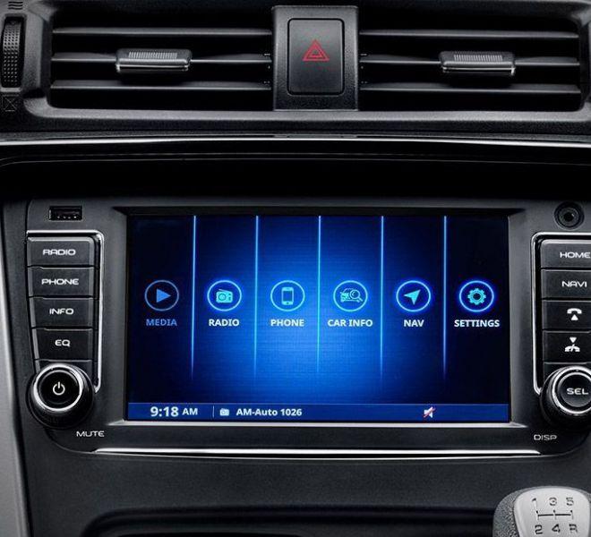 Automotive Mahindra KUV 100 NXT Interior-4