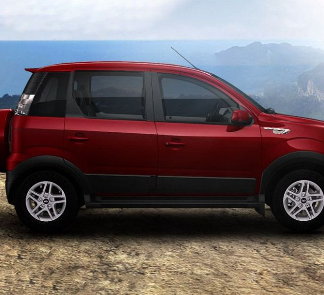 Automotive Mahindra Nuvosport Exterior-5