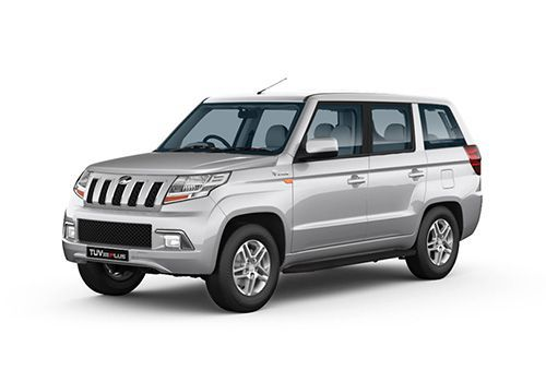 Automotive Mahindra TUV300 Plus Majestic Silver