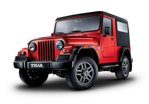 Automotive Mahindra Thar Red Rage