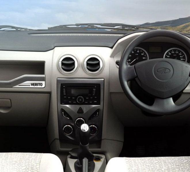 Automotive Mahindra Verito Interior-1